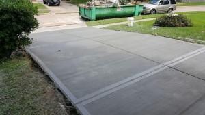 new-concrete-driveway-houston-Houston, TX
